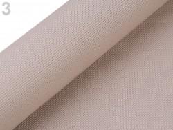 Vyšívacia tkanina Kanava 54 očiek šírka 50 cm - béžová