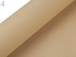 Vyšívacia tkanina Kanava 54 očiek šírka 50 cm - natural