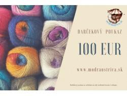 Darčekový poukaz - 100 eur
