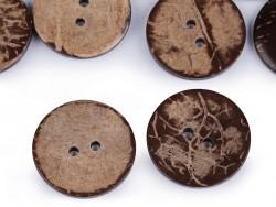 Gombik kokosový - 30 mm