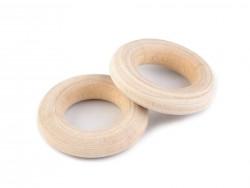 Drevený krúžok - vnútroný priemer 12 mm