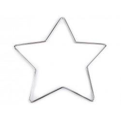 Kovová hviezda - lapač snov...