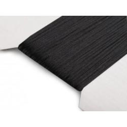 Saténová šnúra - čierna