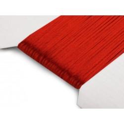 Saténová šnúra - červená