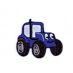 Nažehlovačka - modrý traktor
