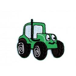 Nažehlovačka - zelený traktor