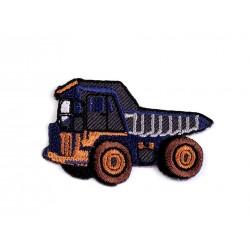 Nažehlovačka - šedý nákladiak