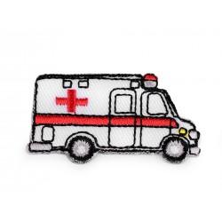 Nažehlovačka - biela sanitka
