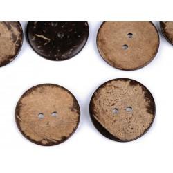 Gombík kokosový - 38 mm