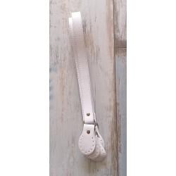 Rúčky 76 cm - biele