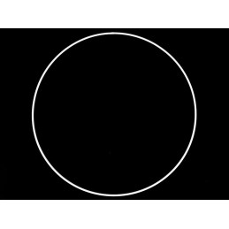 Kovový kruh pre lapač snov...