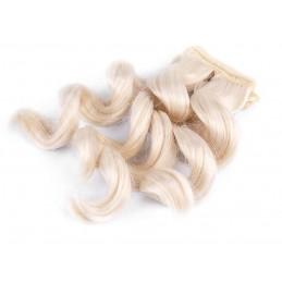 Vlasy pre bábiky vlnité -...