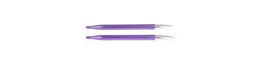 KnitPro Zing - vymeniteľné ihlice