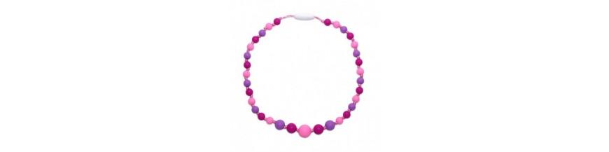 Silikónové náhrdelníky pre dievčatá