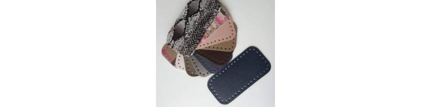 Dno na kabelku z koženky (12 x 25 cm)