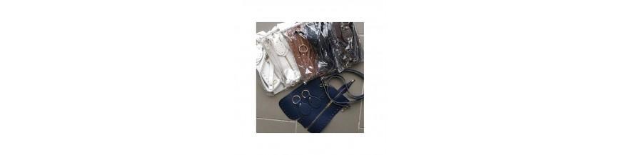 Súprava na kabelku so zipsom / sponou
