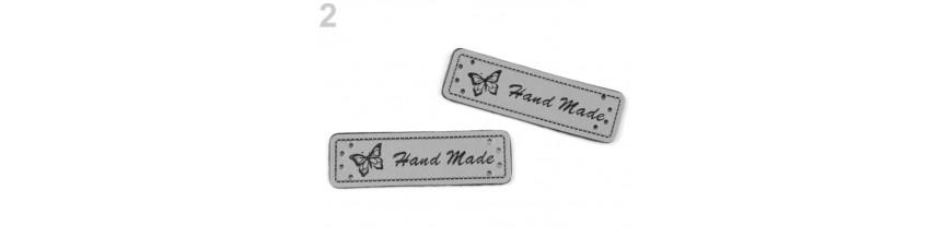 Handmade štítky